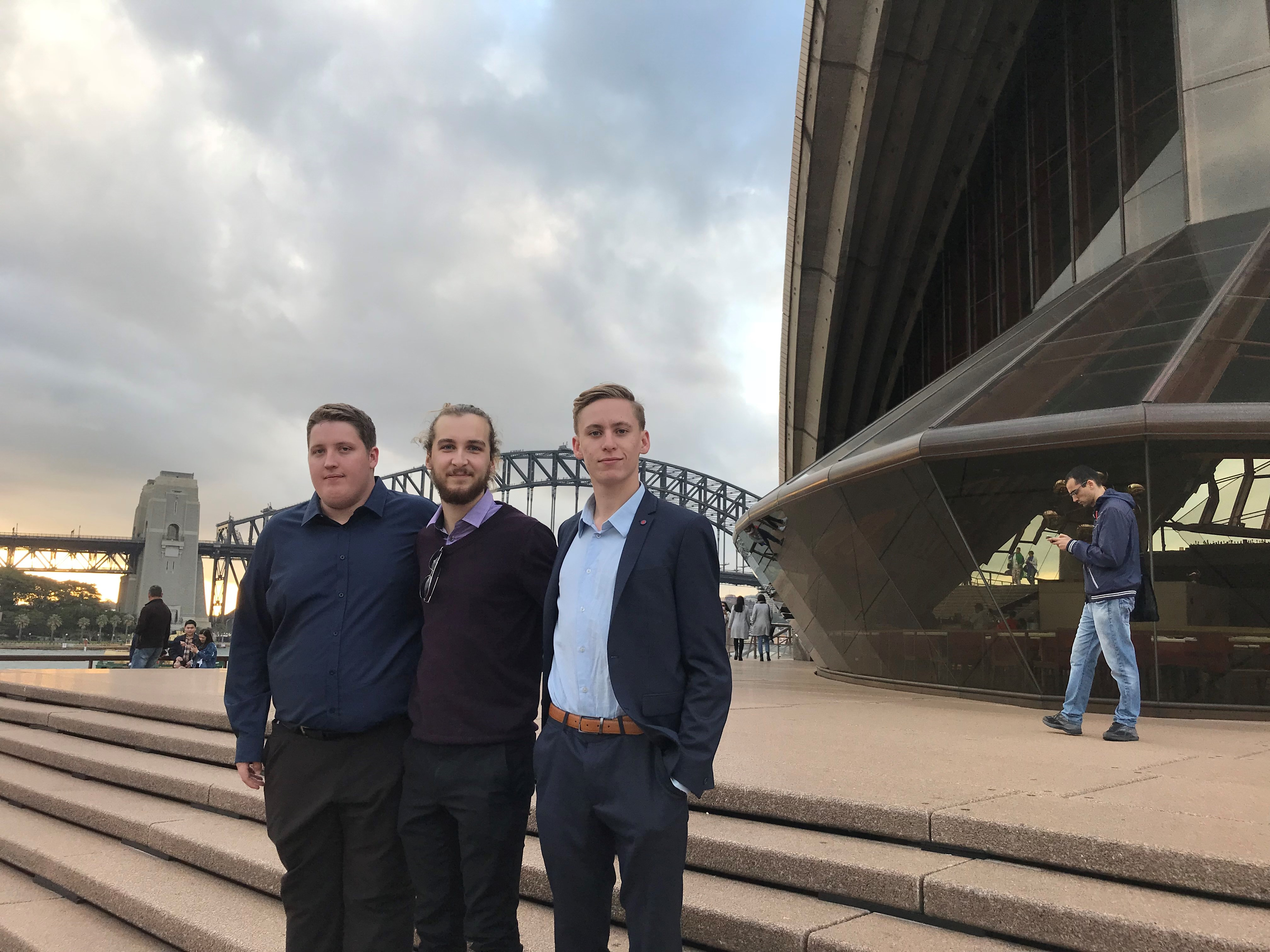 Sean Ayres – with Scholars at the Opera House