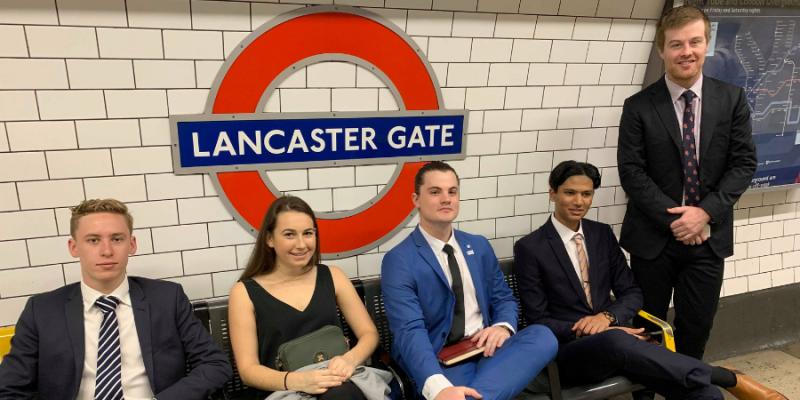 Europe Blog Lancaster Gate Tube