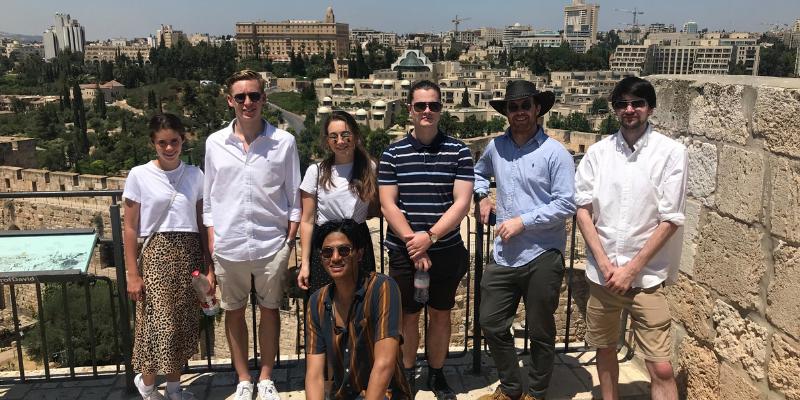 Jerusalem group photo