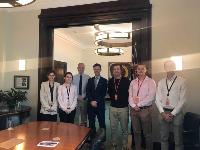 WK 5 - London - Australian Embasy tour - all students